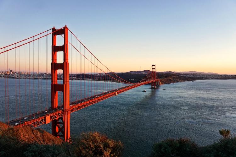Image of the Golden Gate Bridge.