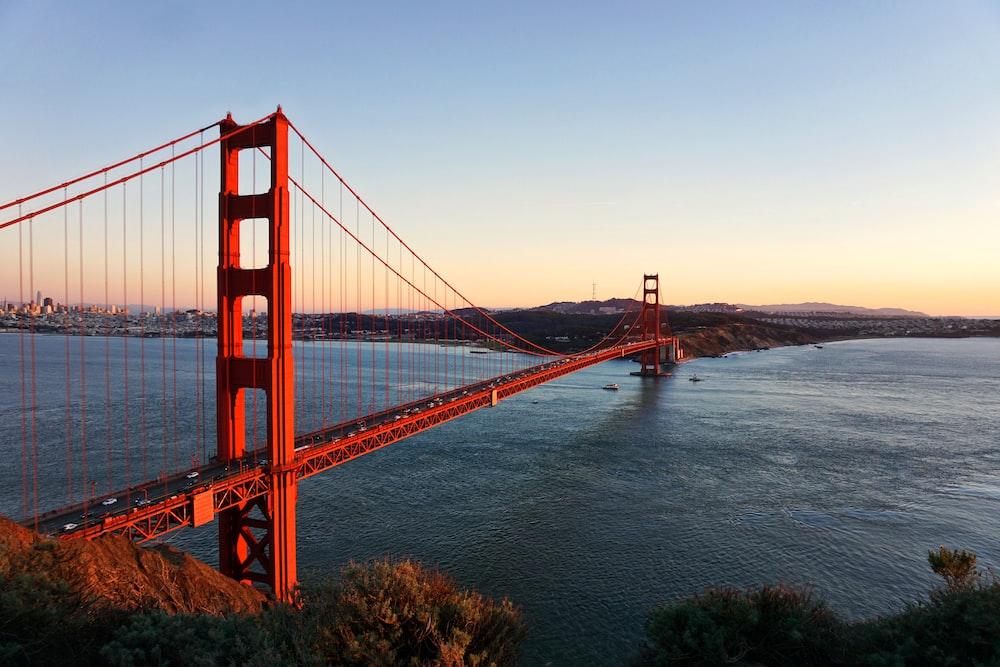 Golden Gate bridge during daytime