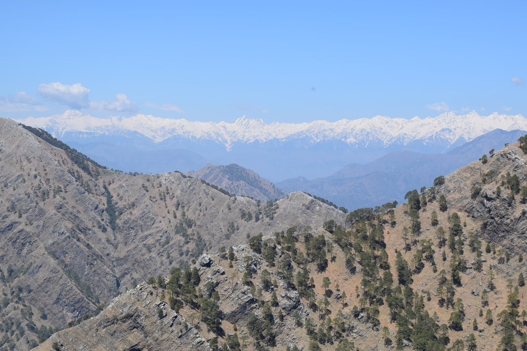 A view of mighty Himalaya