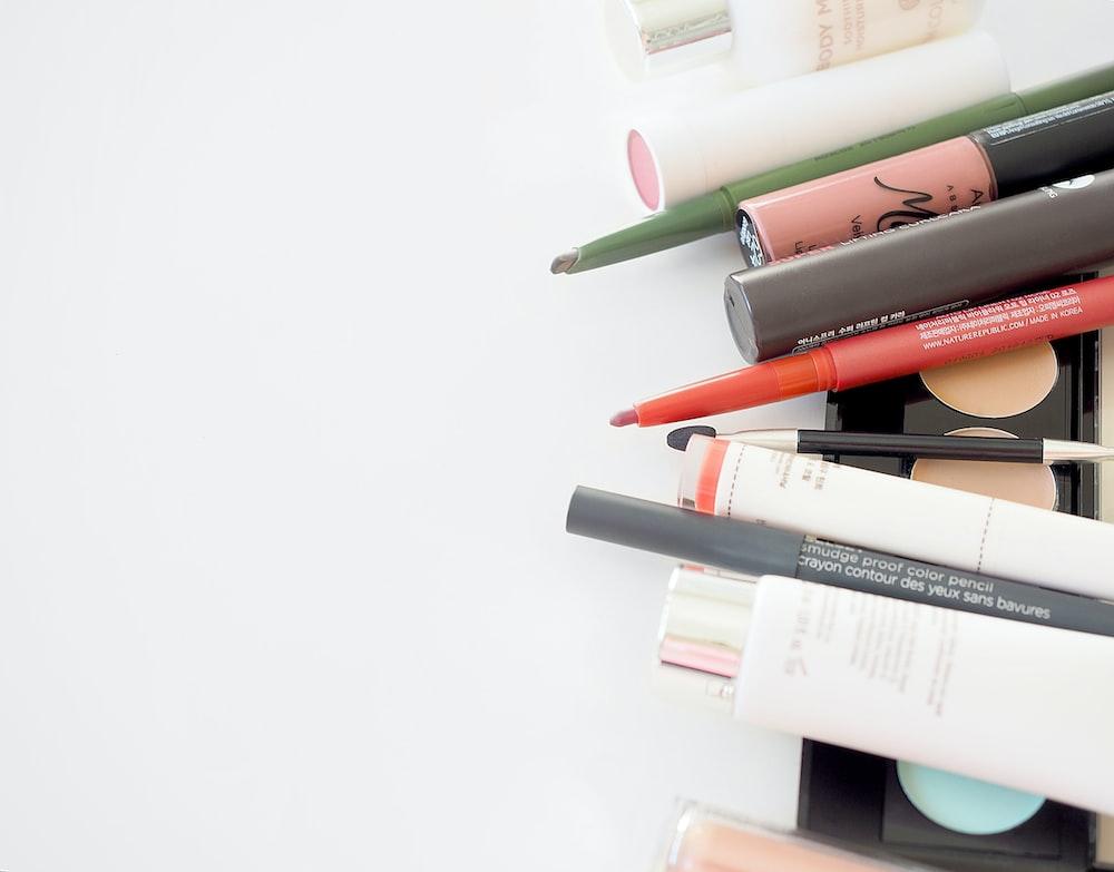 assorted makeup kit