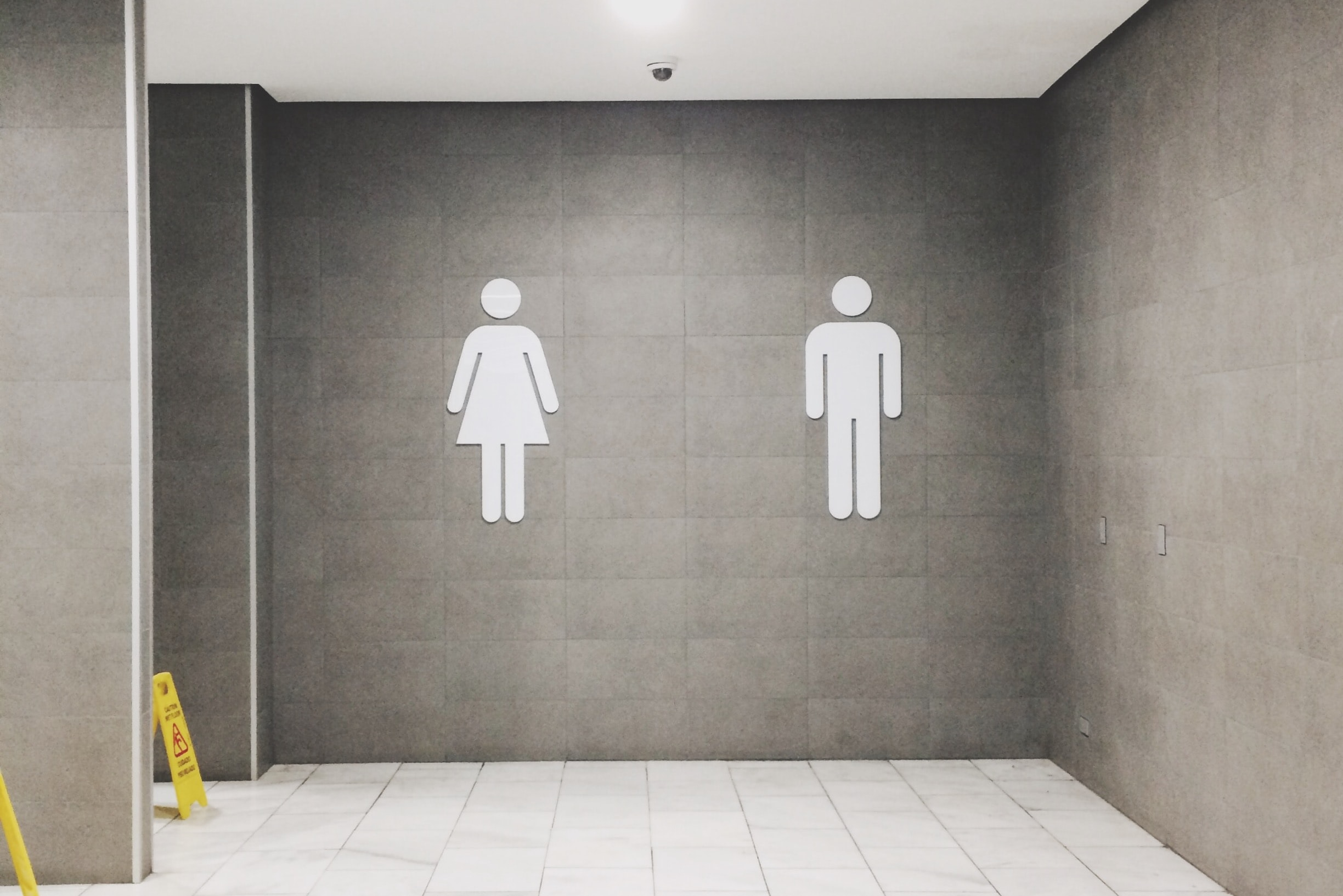 men's and women's bathroom signs