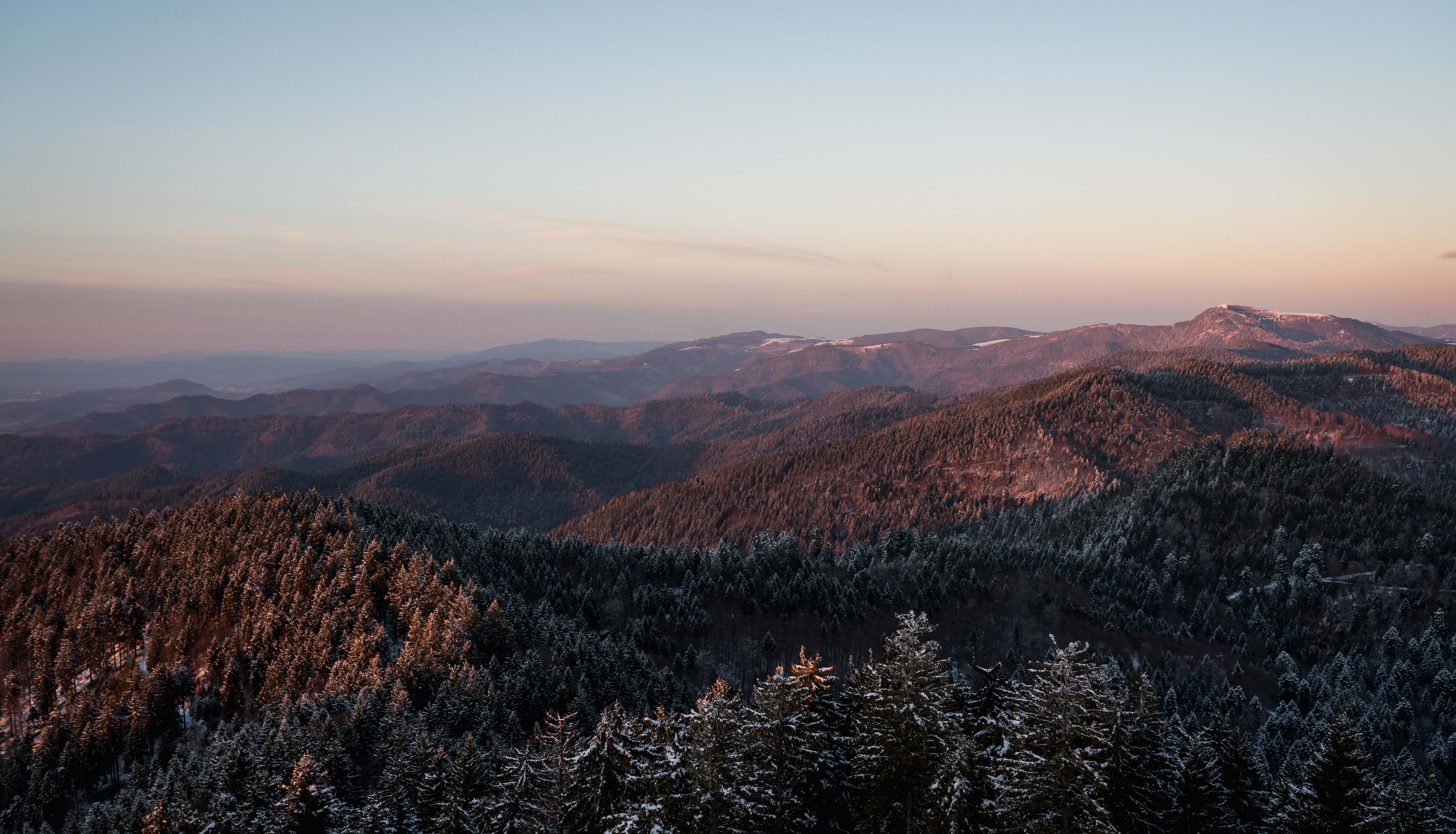 landscape photography of brown mountain at daytime