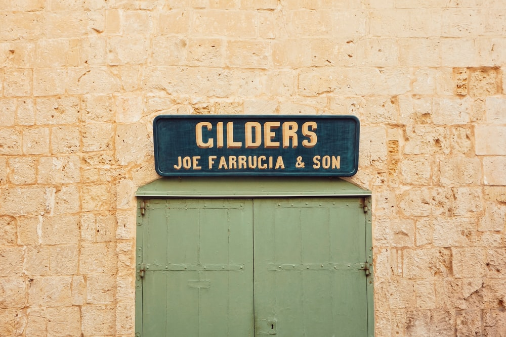 Cilders Joe Farrugia and Son sigange