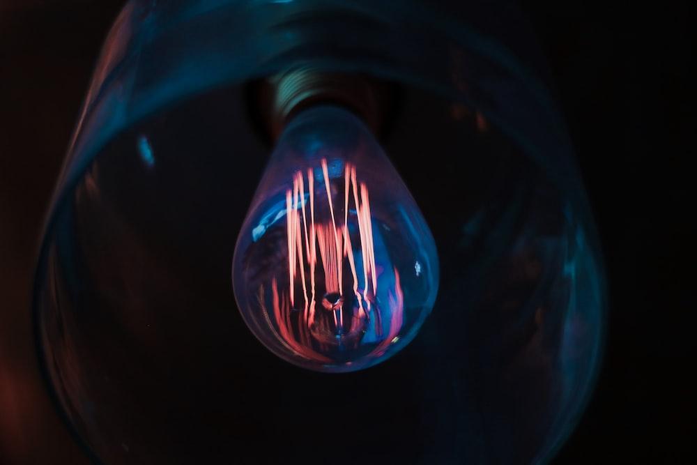 clear lightbulb