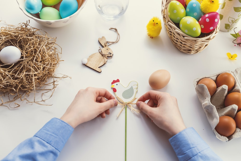 easter wooden ornaments