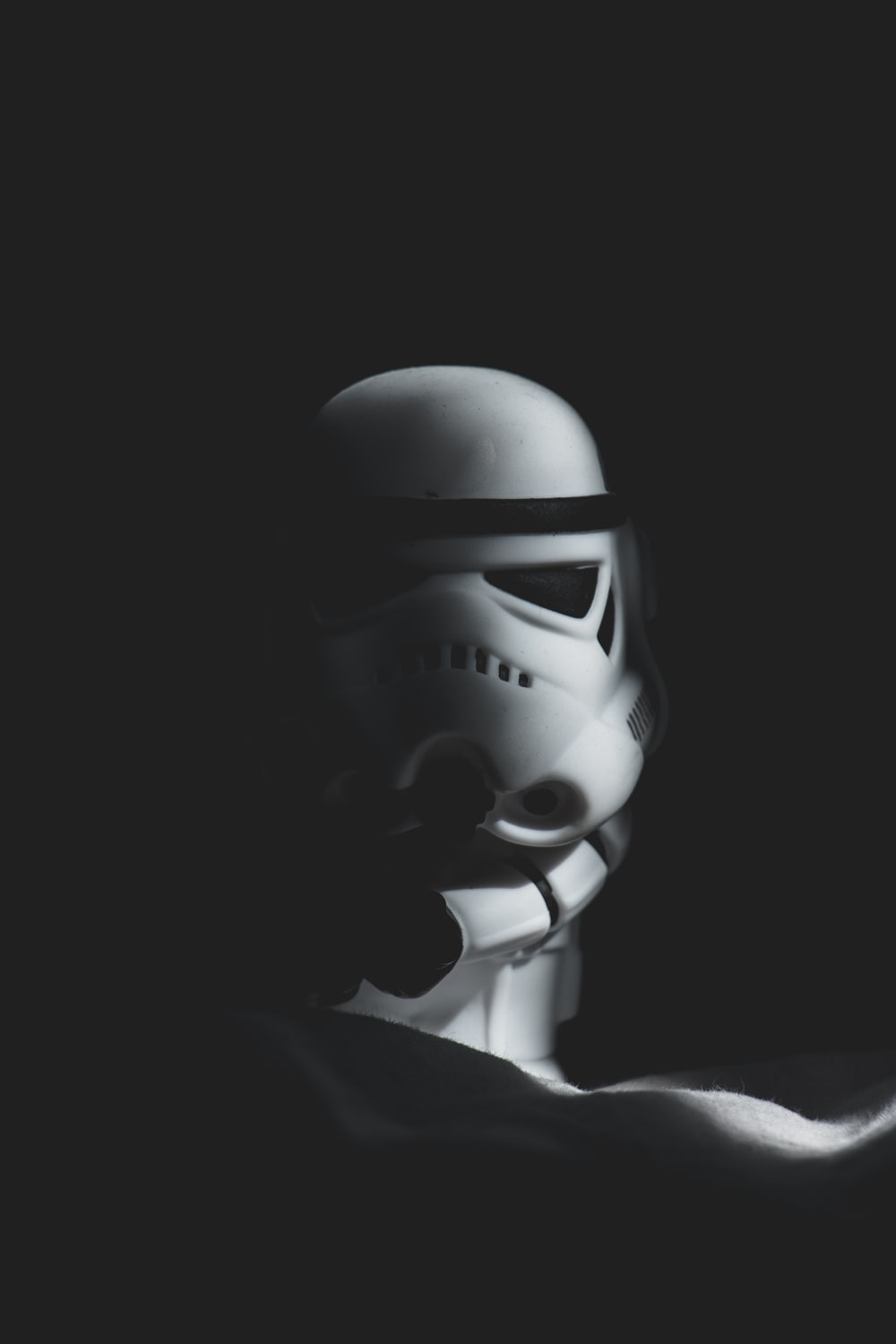 Stormtrooper low light photography