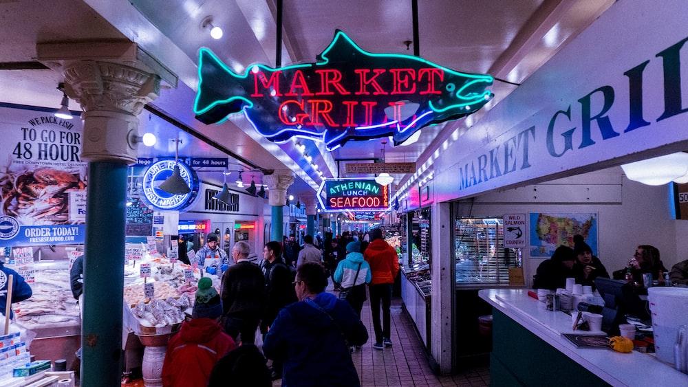 Market Grill signage