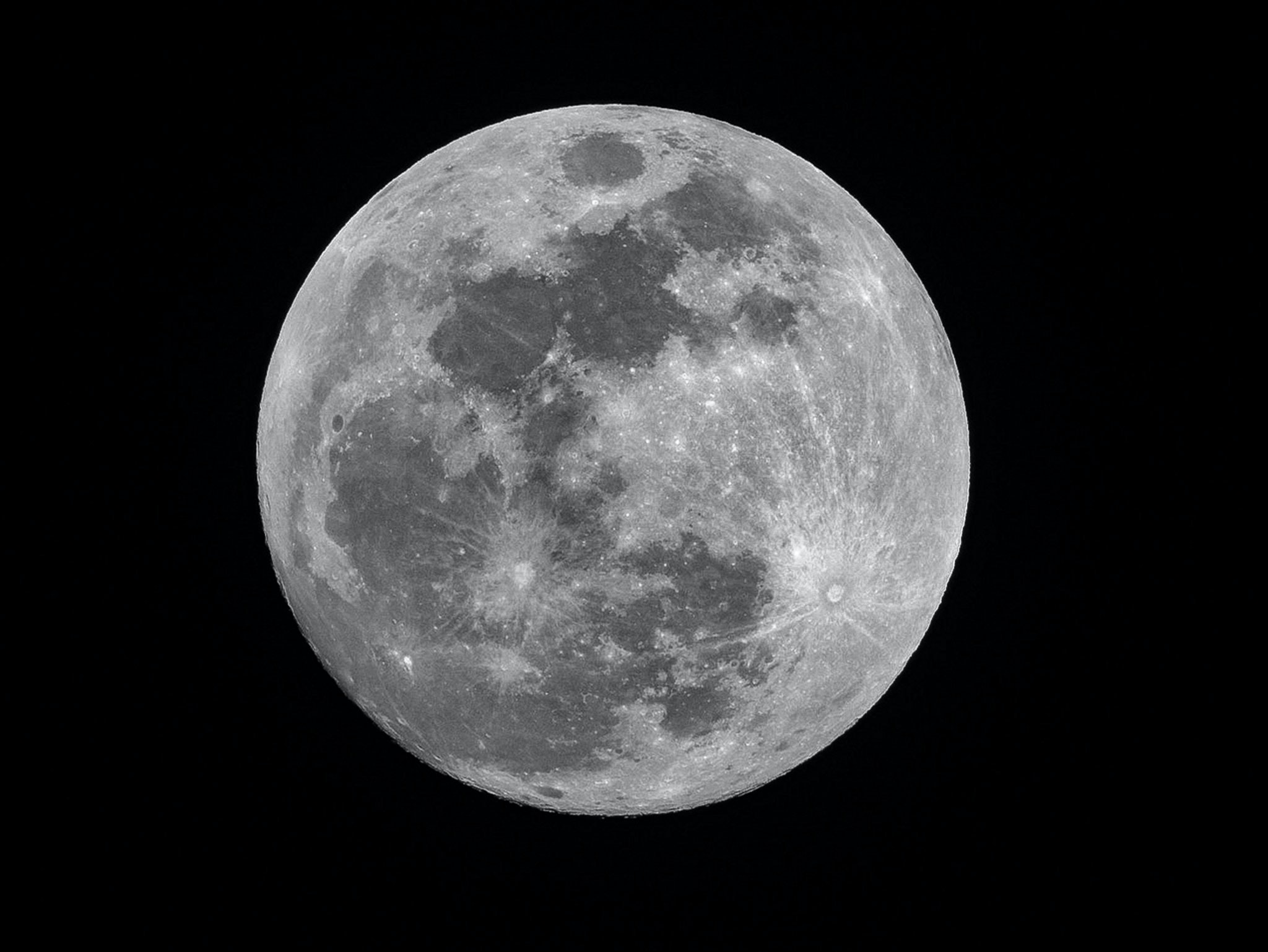 full moon photography