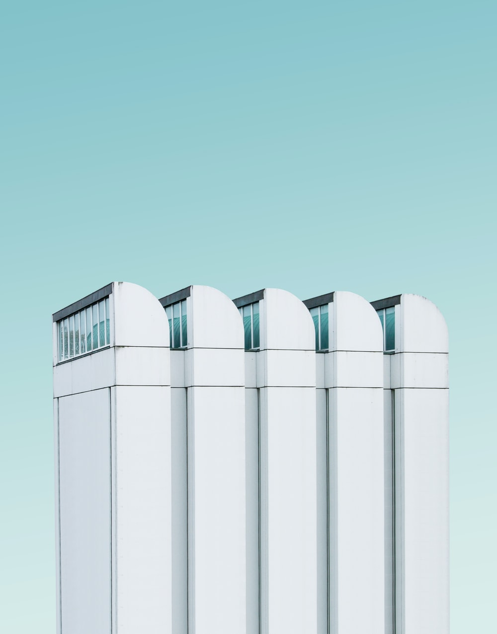white industrial machine