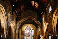 Gothic building interior