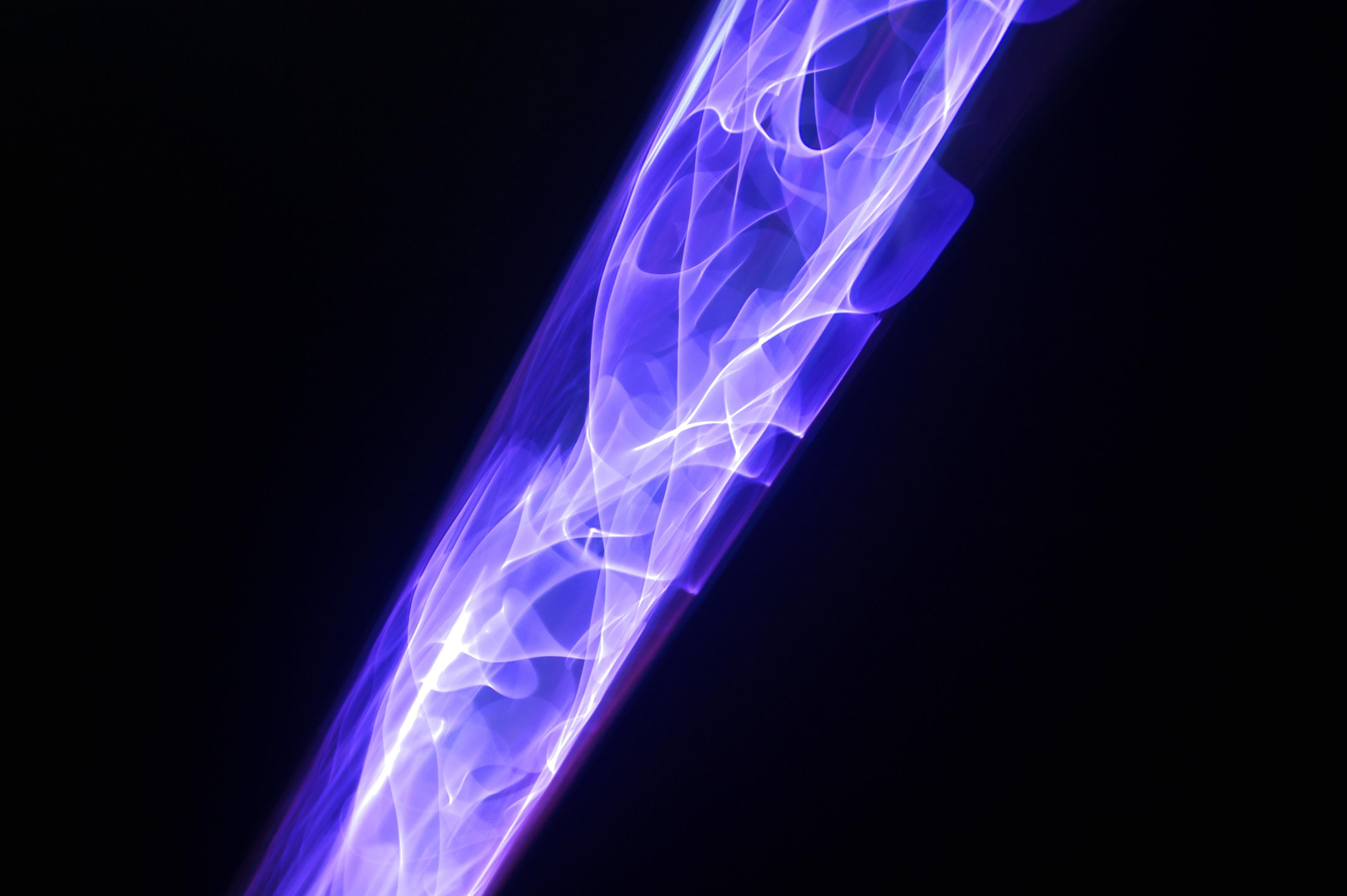purple and black digital wallpaper