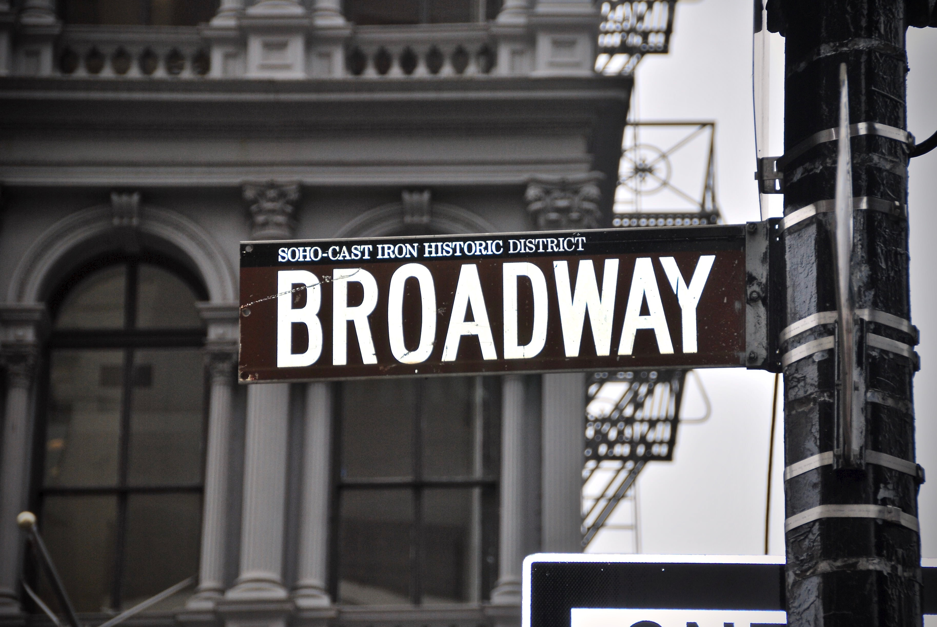Broadway signboard