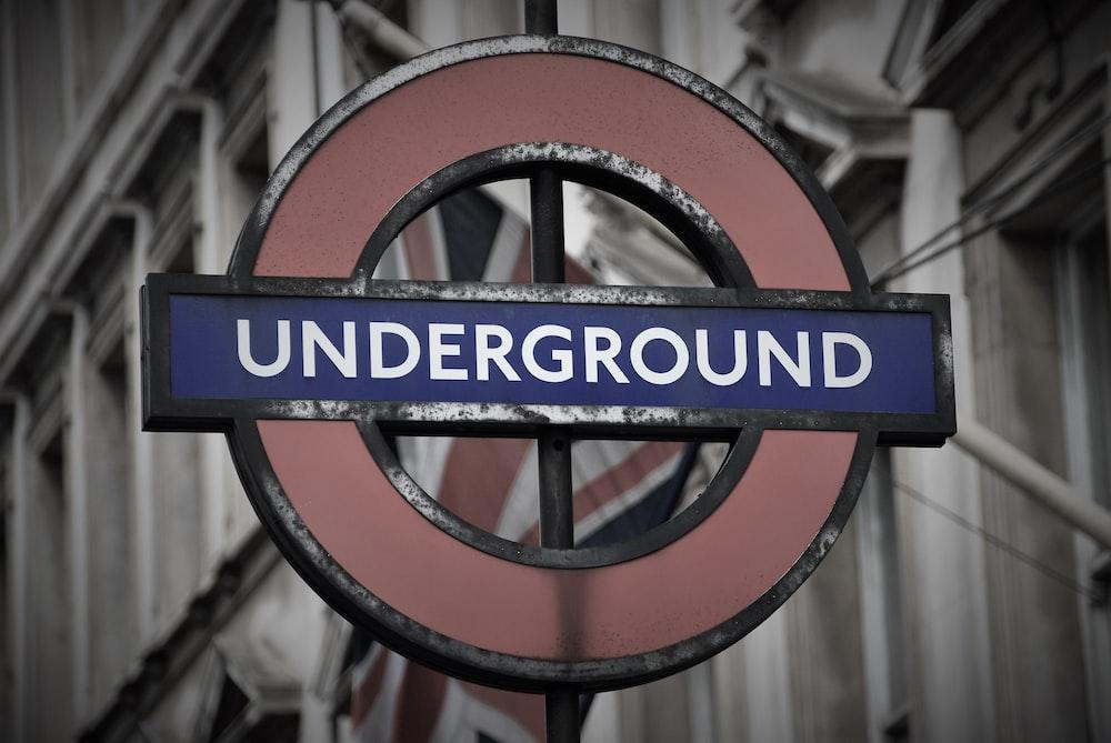 Underground signage
