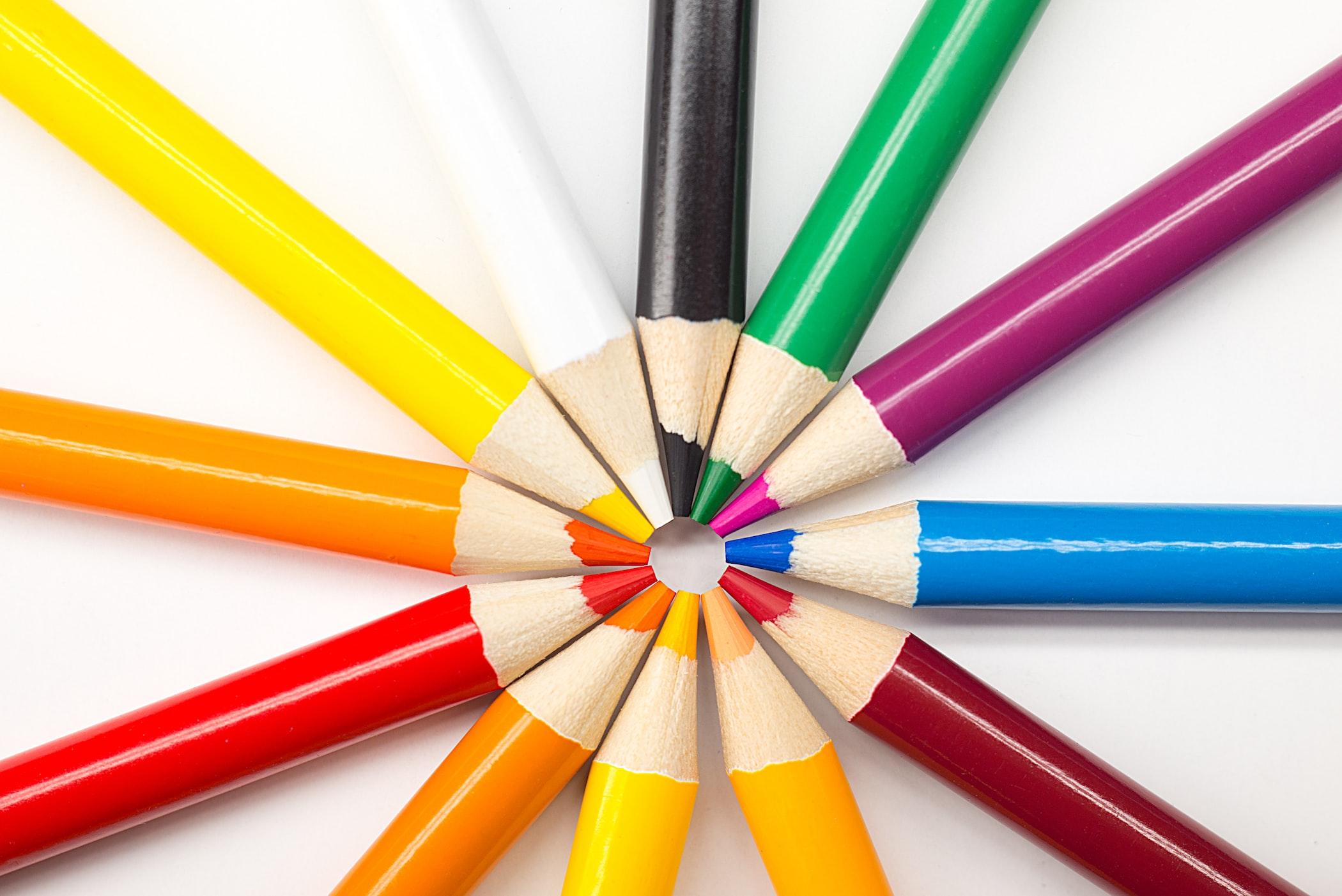 英単語を簡単に覚えるコツ「色を使う」