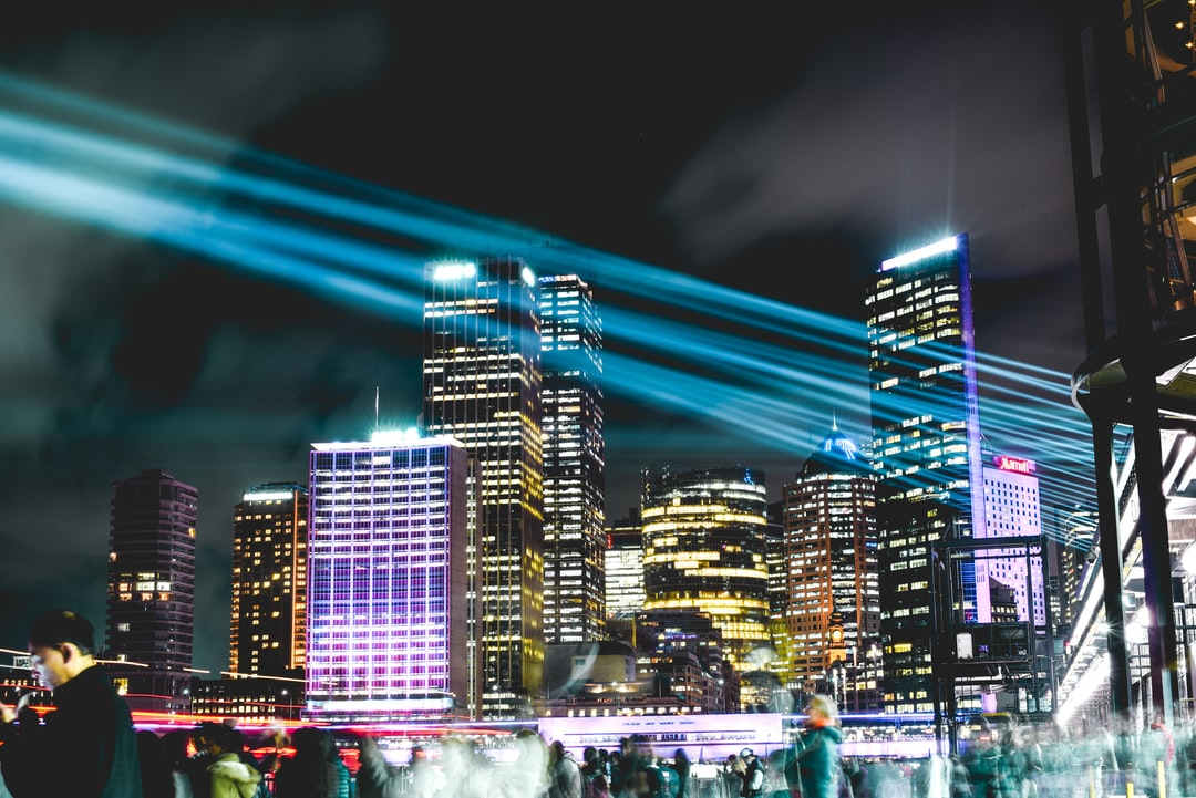 I took this photo while visiting my ex-girlfriend in Sydney, Australia. I had come just in time for the Vivid Lights festival, and took this long exposure shot of the cityscape of downtown Sydney.