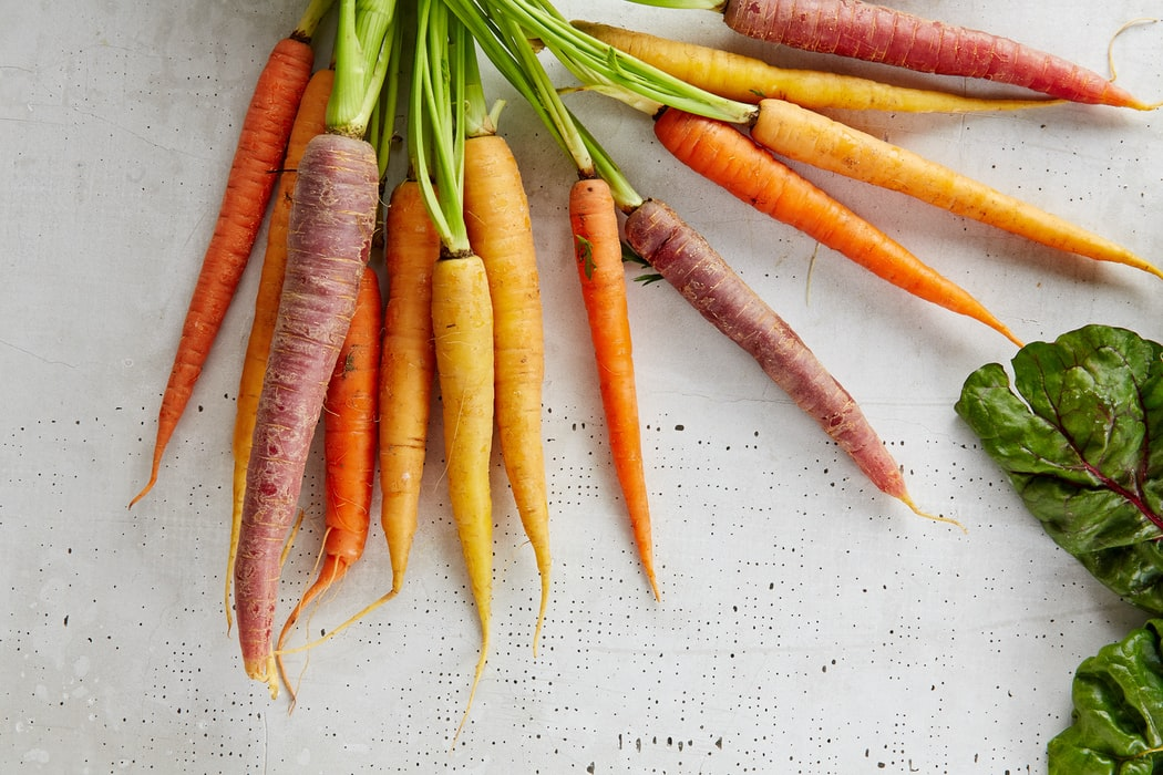 Carrots were originally purple. The Dutch monarch carrot planted seeds together until the carrots grew orange to match their royal color – The House of Orange. Orange carrots were a symbol of prestige.