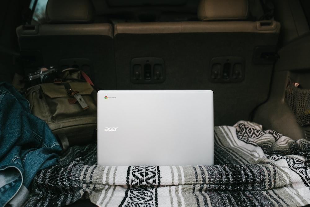white Acer Chromebook laptop