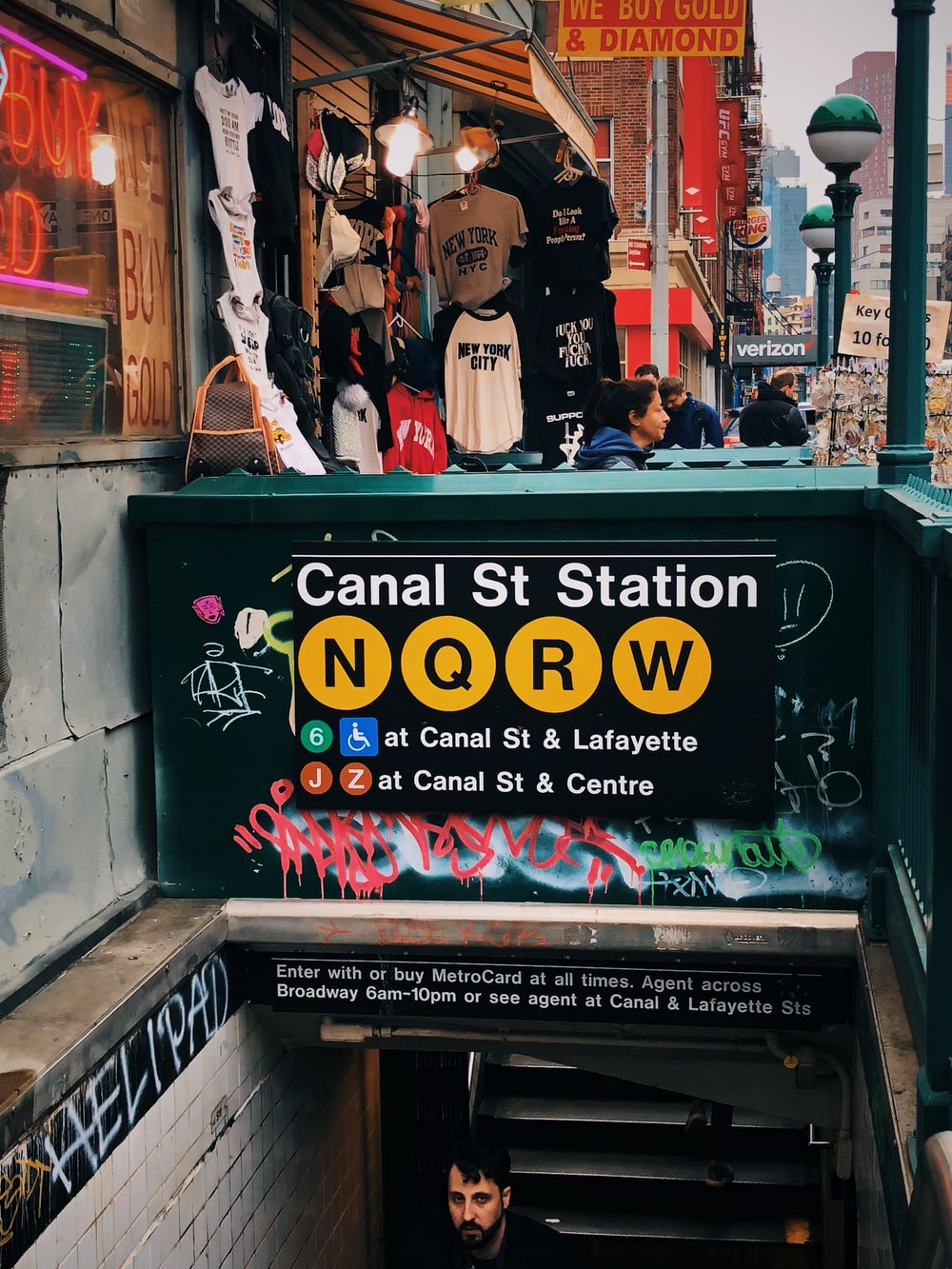 Canal St Station, New York