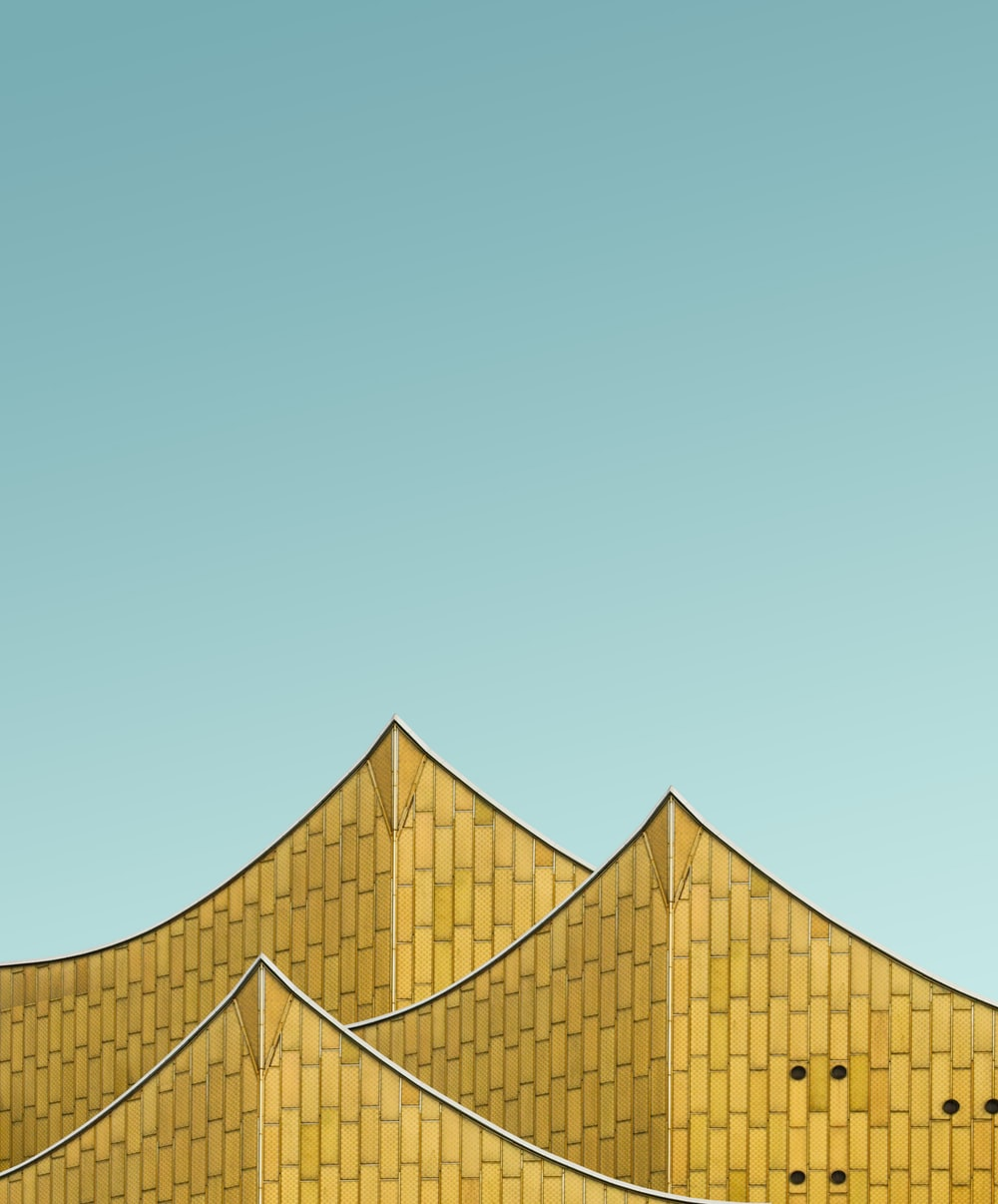architectural photography of building roofing
