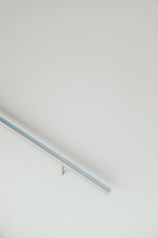 white metal frame