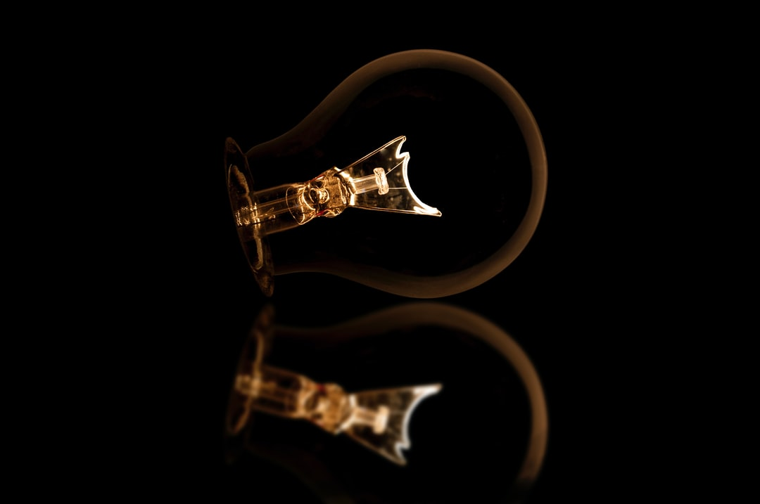 This light bulb was once lighting up a house, then it was an artistic object and the it died =( .