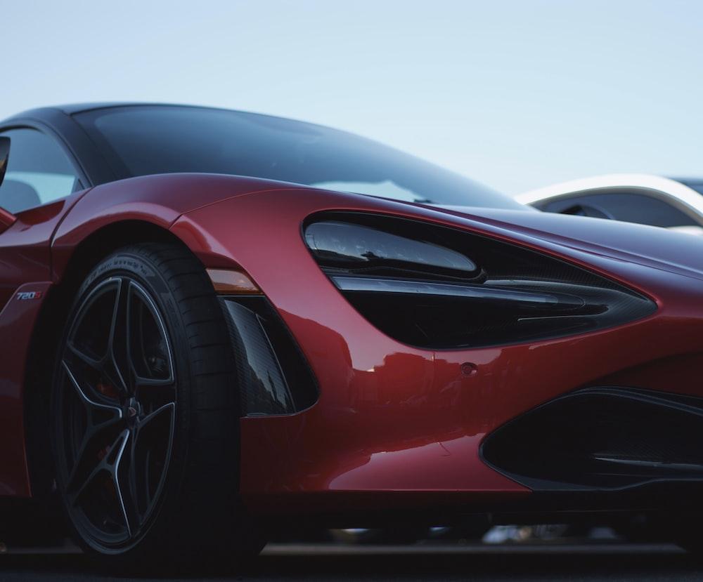 turn off red McLaren 720s