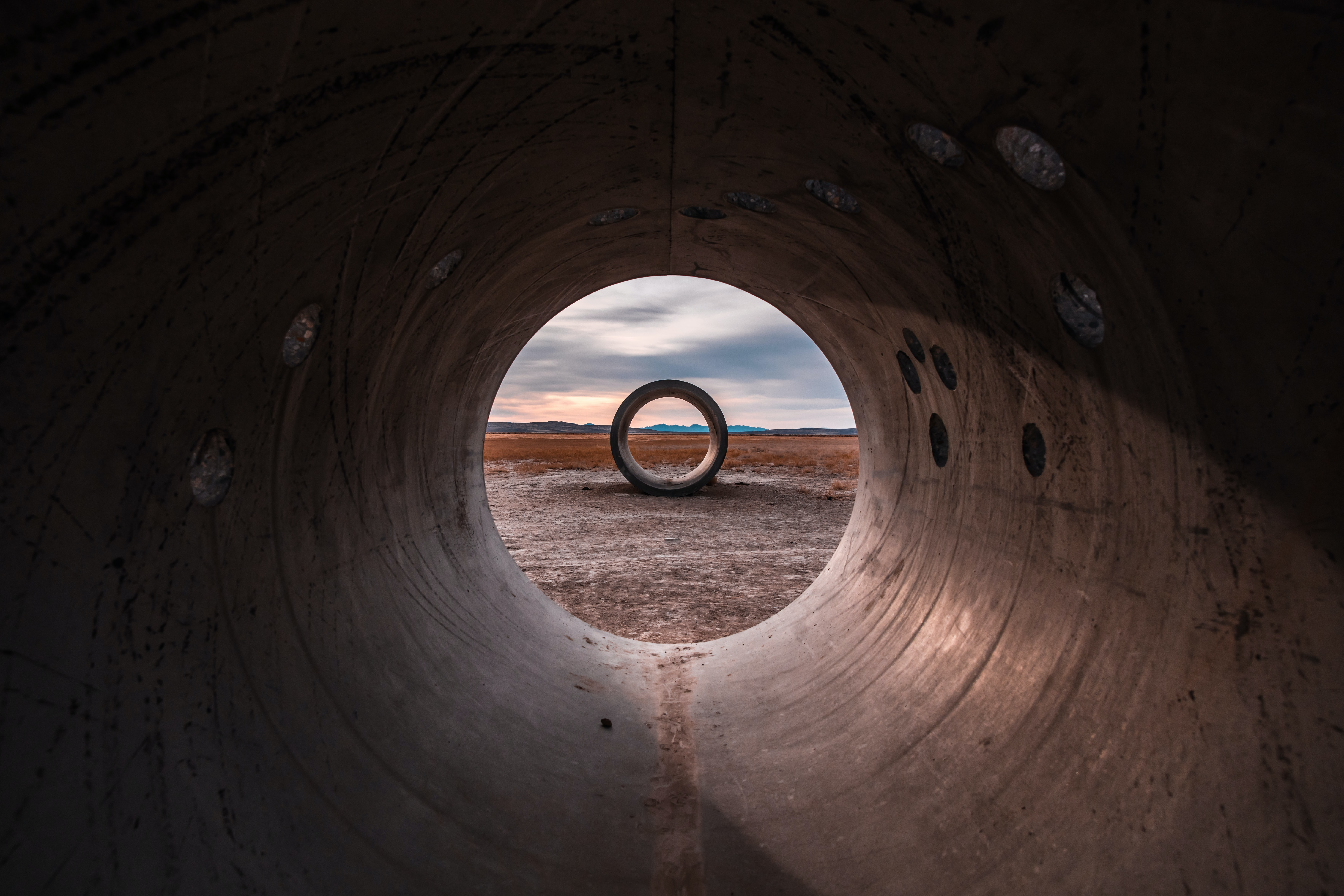 gray tunnels