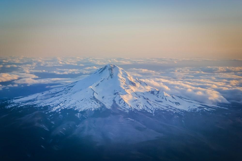 aerial view of Mount Fuji, Japan during daytime