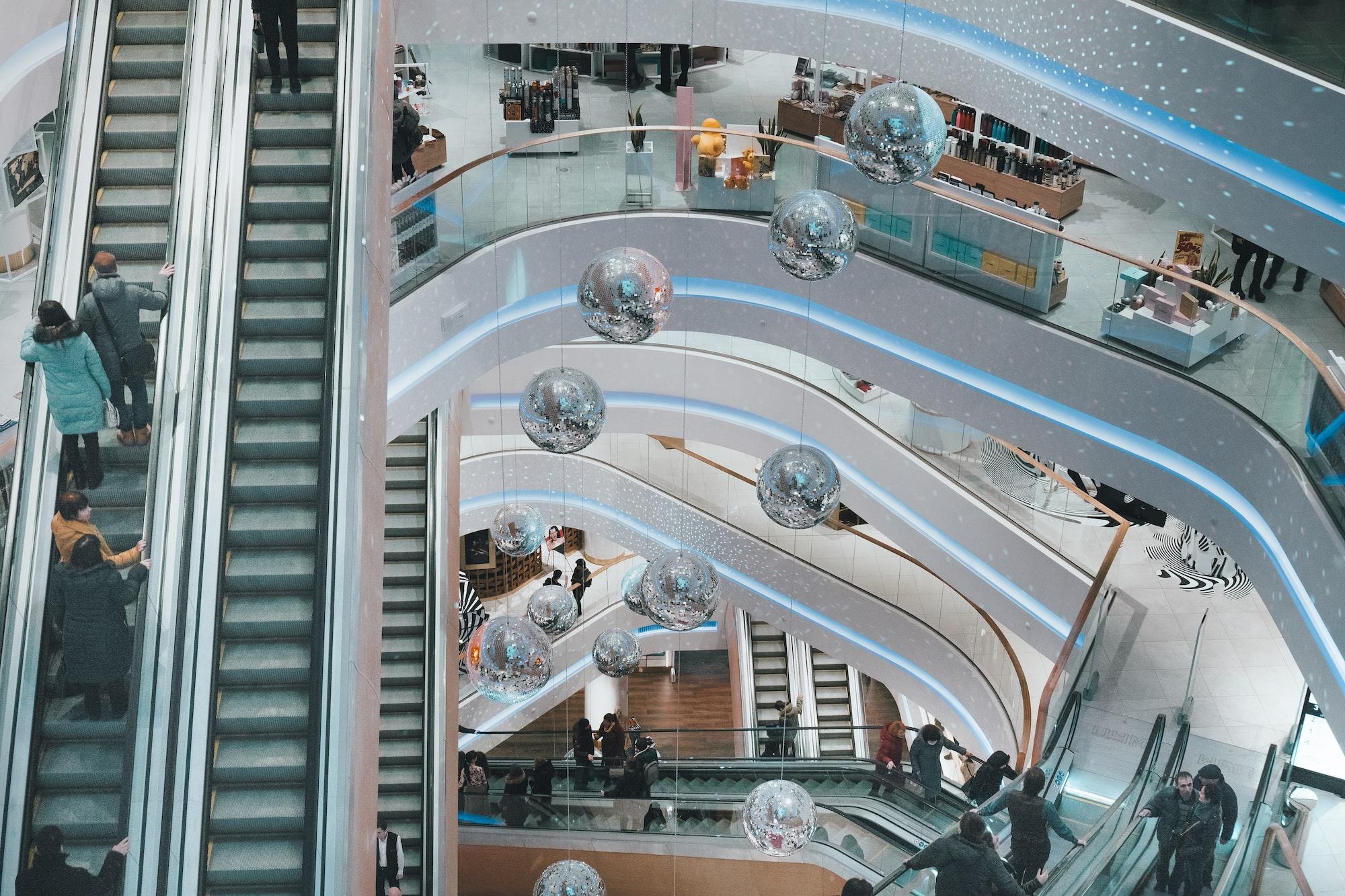 Inside TSUM Mall