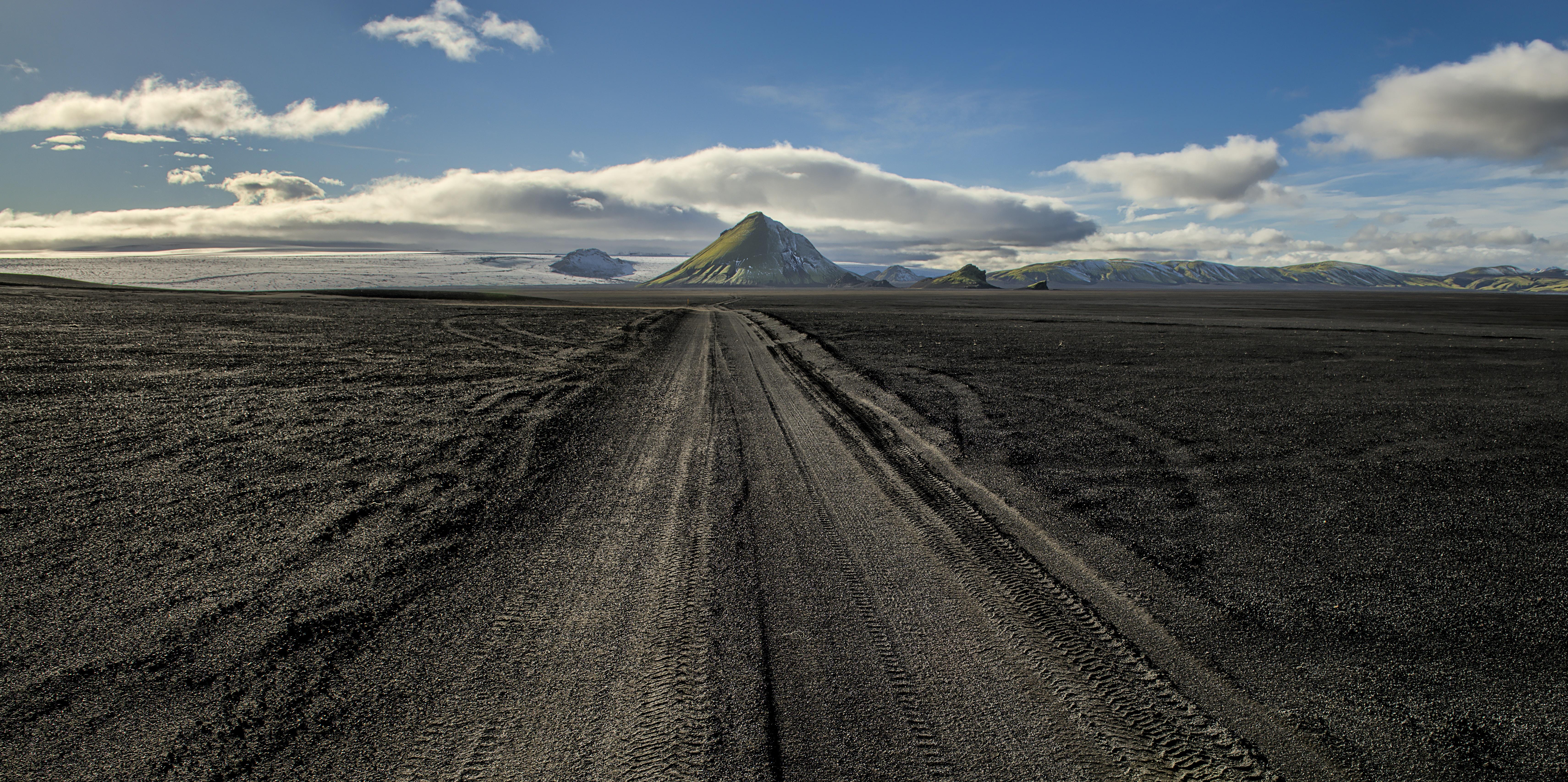 road near mountain