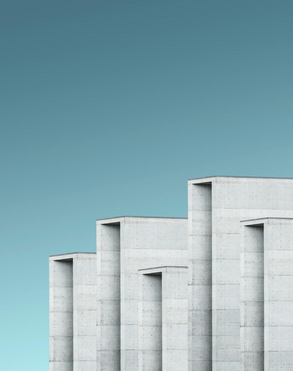 gray concrete monolith
