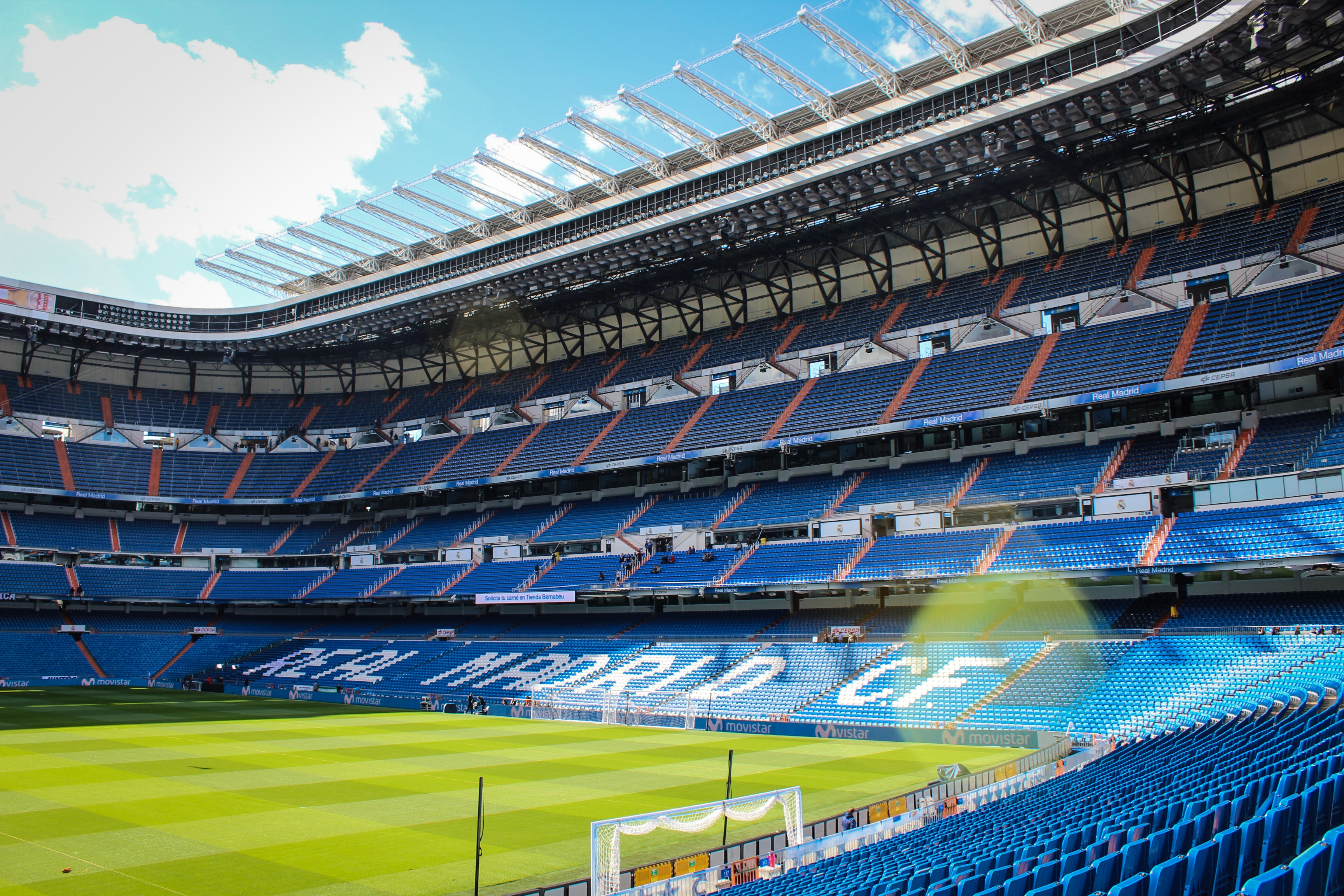 Real Madrid CF stadium