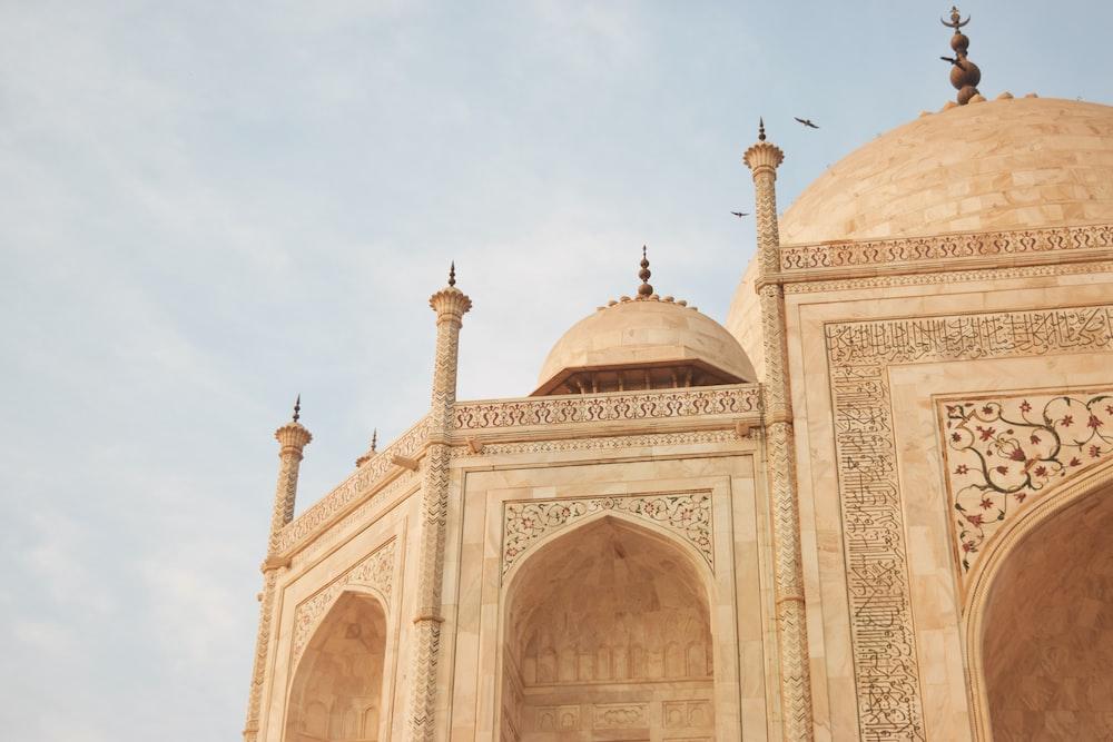 concrete dome mosque
