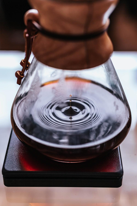 coffee drop in jar
