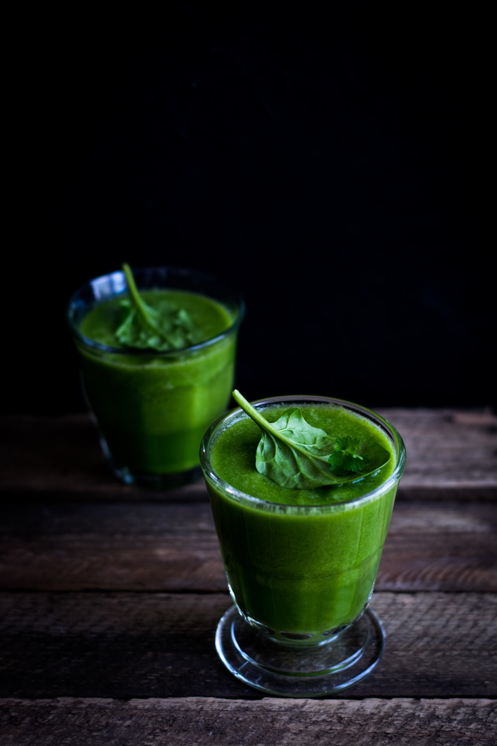 two green shakes
