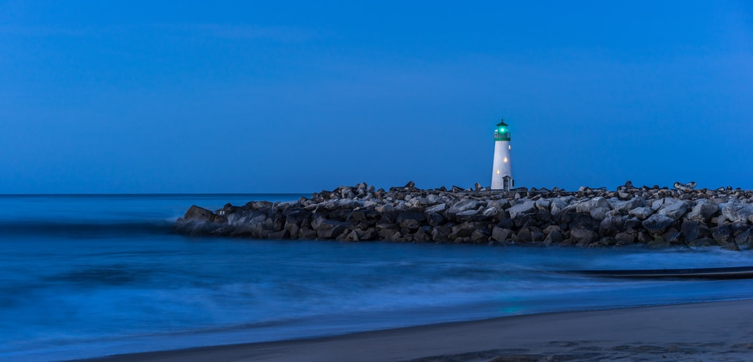 Walton Lighthouse Before Sunrise