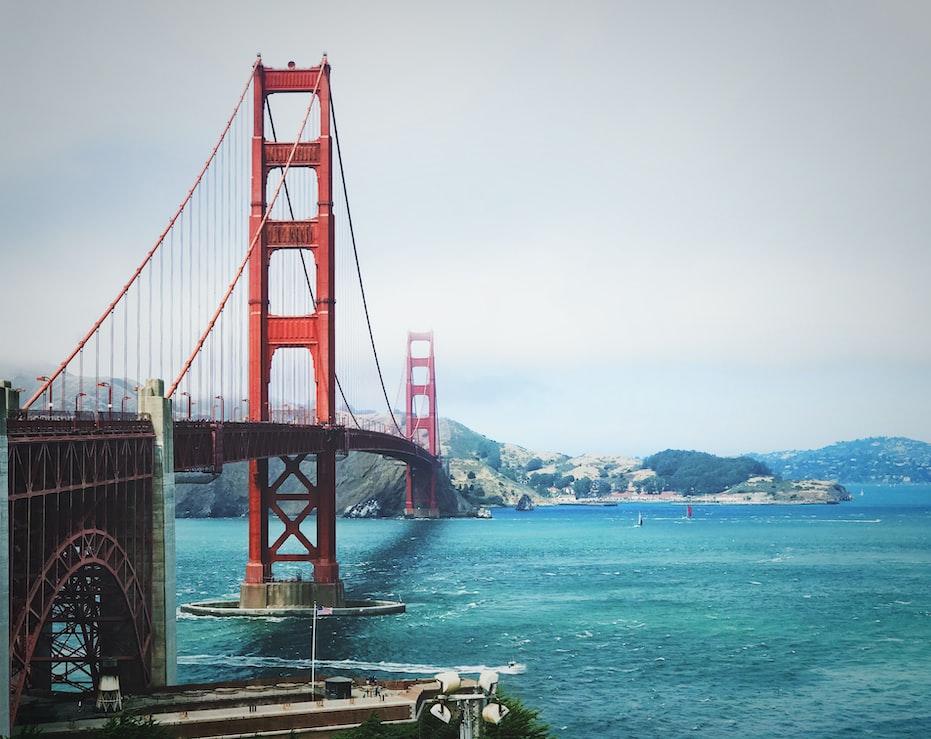 San Francisco Golden Gate Bridge, Skyline