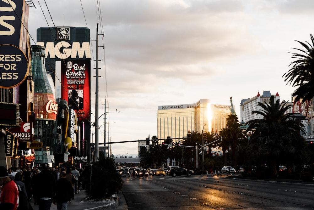 MGM signage