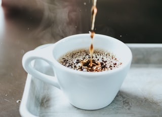 time lapse photography of coffee on cup