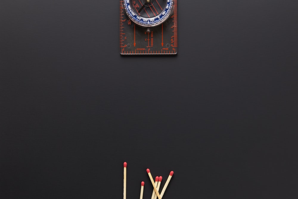 matchsticks on floor photo