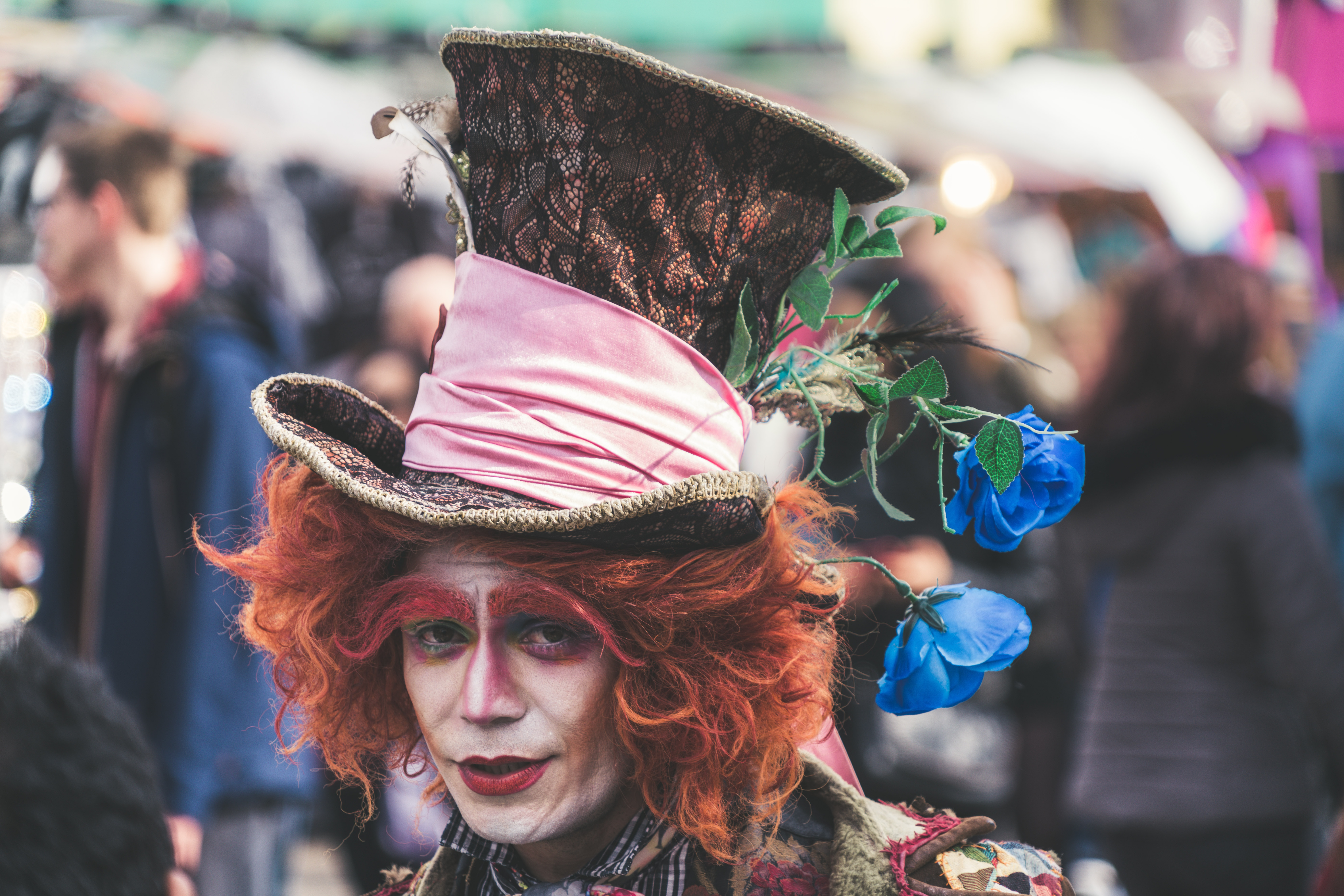 Mad Hatter costume photography