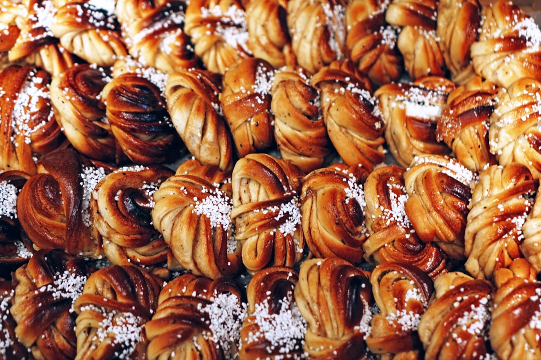 We celebrate the Day of the Cinnamon Bun (October 4th) in Sweden. Looks tasty? It was!