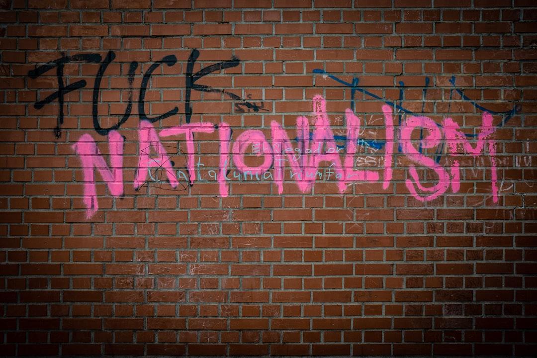 A graffiti on a wall in Brno