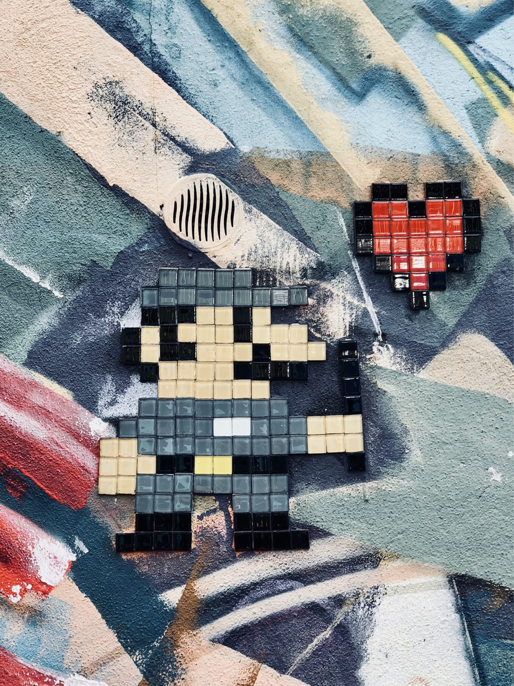 Luigi block toy