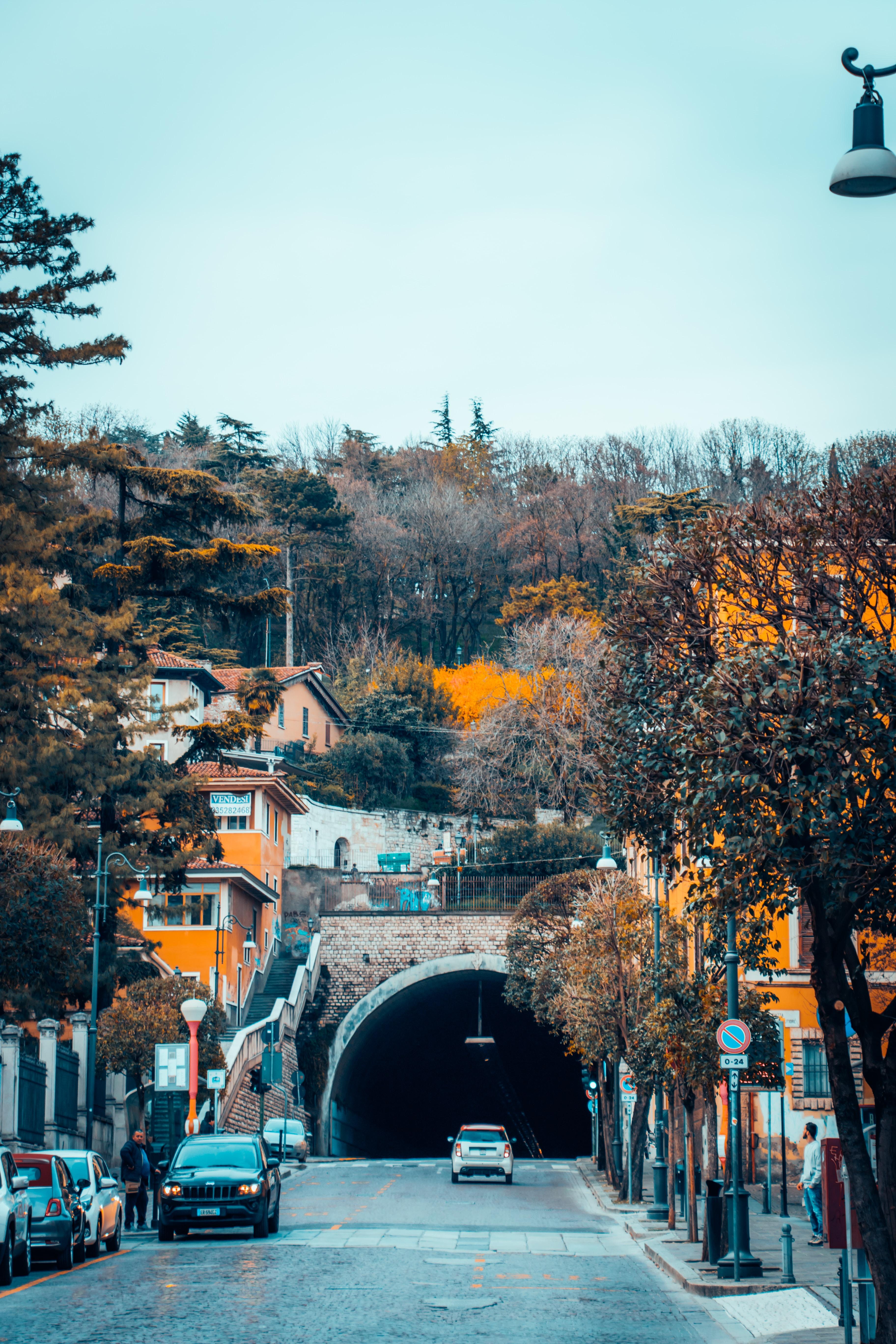 Street of Brescia Italy