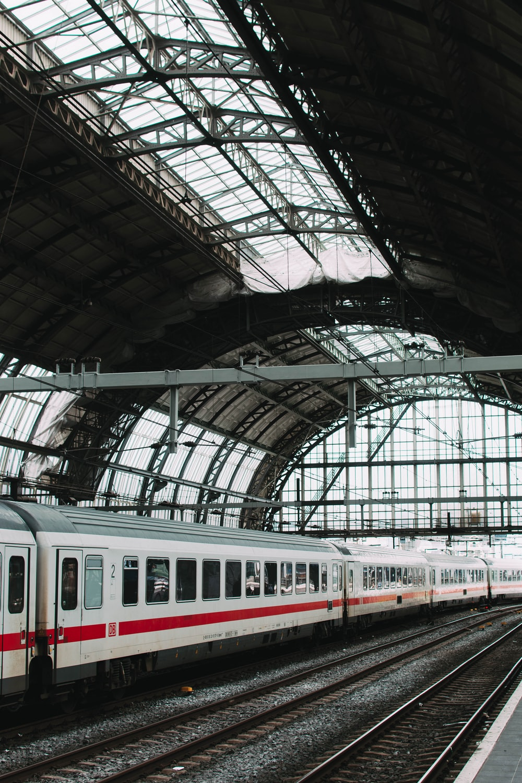 macro shot of train