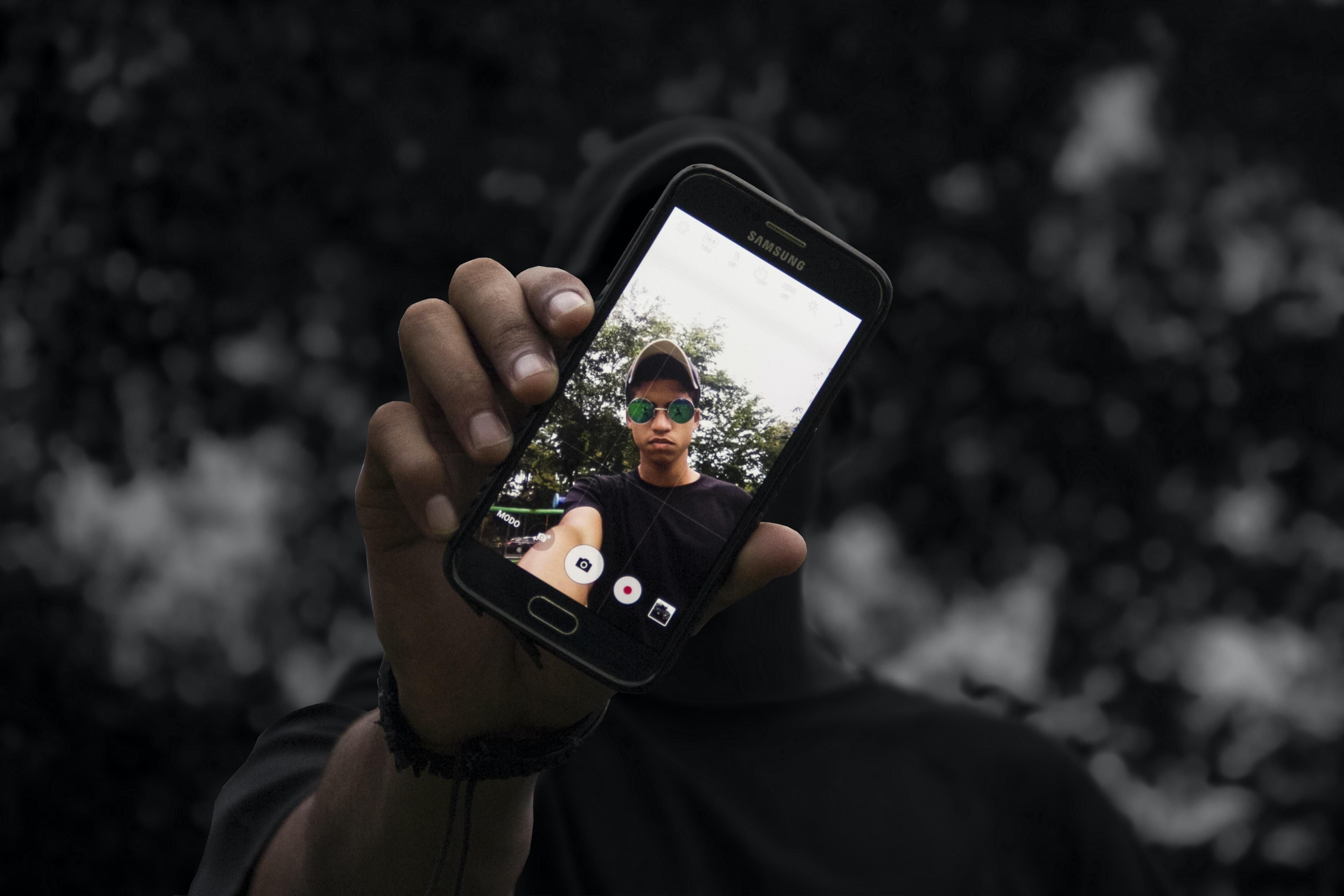 man wearing black shirt screengrab