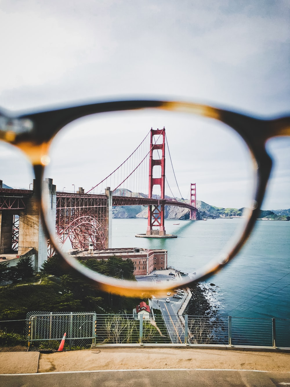lens photography of Golden Gate Bridge, San Francisco California during daytime