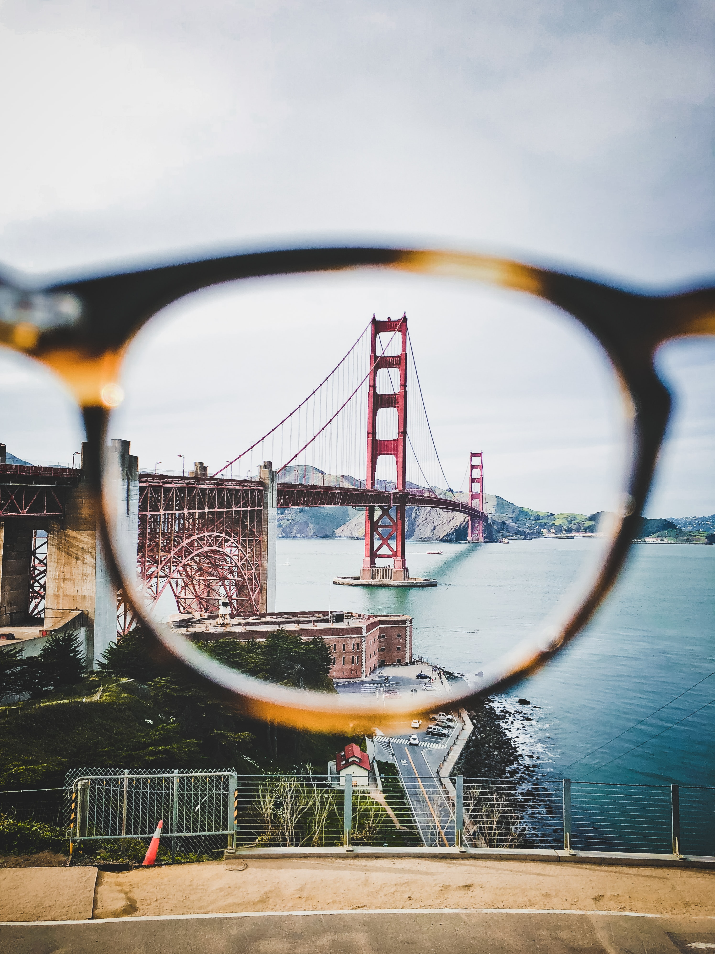 lens photography of Golden Gate Bridge, San Francisco California during daytime