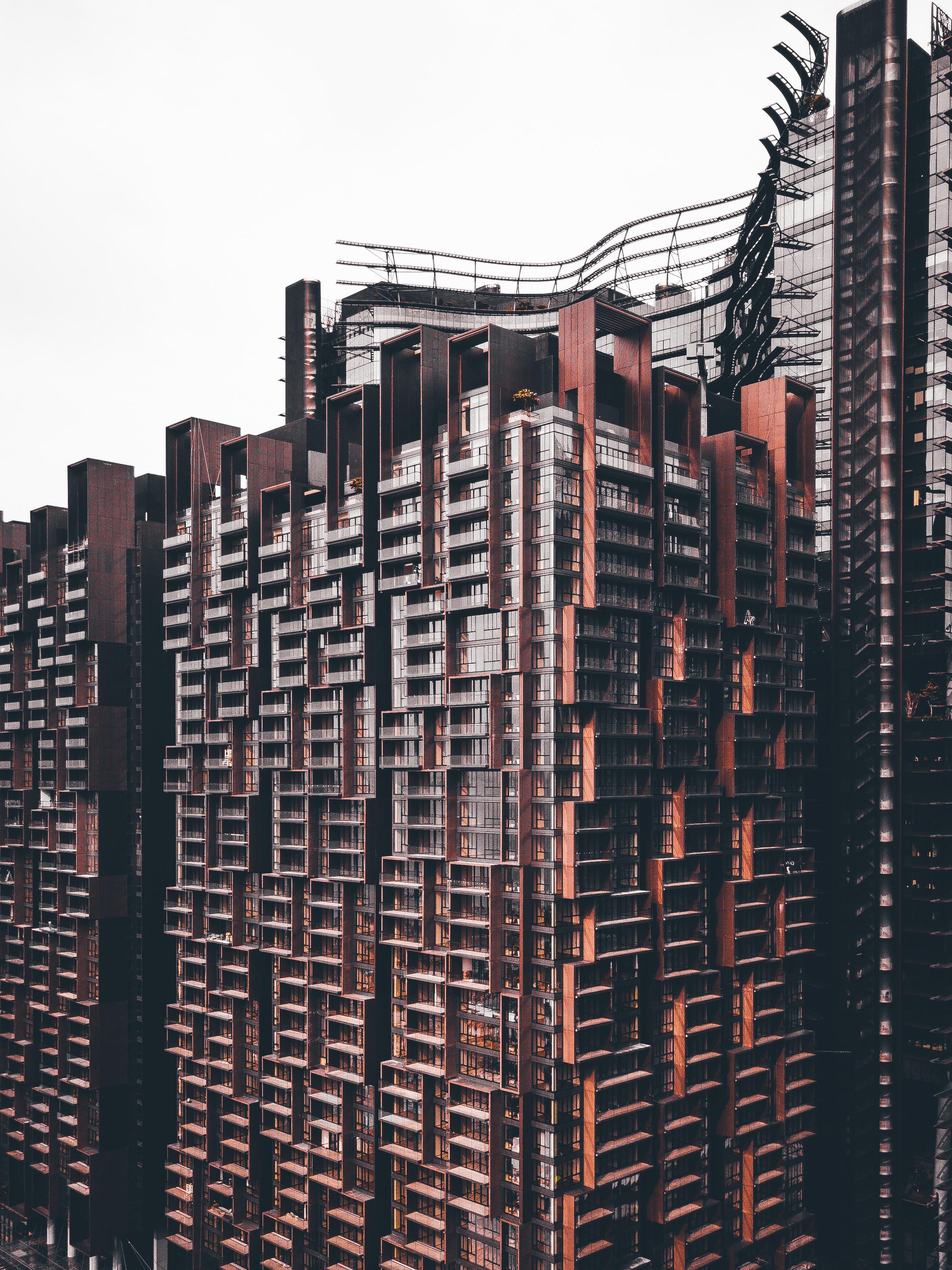 landscape photo of multi-storey building